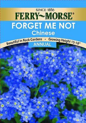 Ferry Morse Forget-Me-Not Annual Seed Packet, New, Free Shipping