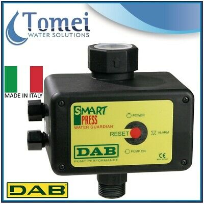 DAB Controller Manual and Automatic Restart SMART PRESS WG 3.0 3,0KW max 240V