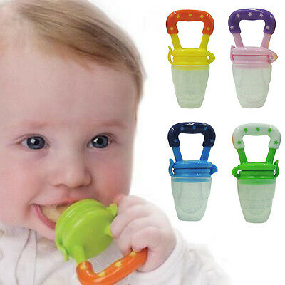 One Baby Nipple Fresh Food Milk Nibbler Feeder Feeding Tool Safe Baby Supplies