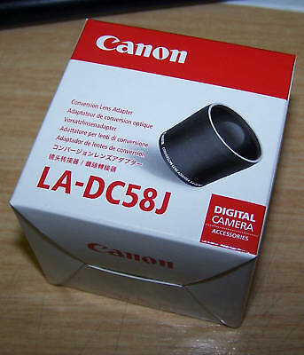 Canon LA-DC58J Conversion Lens Adapter for A650IS
