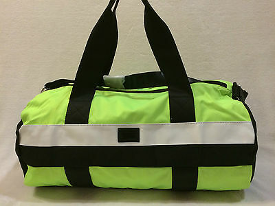 Victoria Secret Pink Duffle Tote / Gym Bag, Travel Carry On, Green Multi Nwt