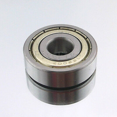 6200-6205-ZZ Series Deep Groove Metal Double Sealed Shielded Ball Roller Bearing