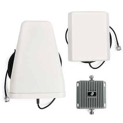 3G 850/1900MHz Mobile Signal Booster Cell phone GSM Repeater Amplifier+Antenna