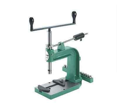 Desktop Hand Tapping Machine,Cast Iron,Tap and Dies New Precision Manual Tappe A