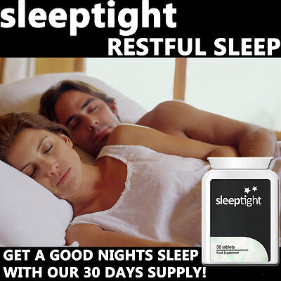 Sleep Tight Sleeping Pills Tablets Goodnight Sleep Anti Anxiety Calming Relax
