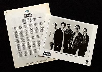Oasis Be Here Now '97 Press Kit