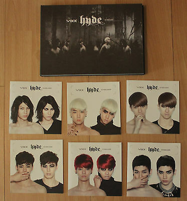 VIXX Hyde 1st Mini Album + CHOSEN MEMBER PHOTOCARD Kpop Korea