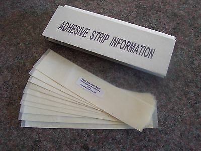 "Long Box ""falling Rain"" Nature Chime Replacement Adhesive Strips - 10 Pack"