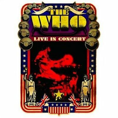 The Who Live In Concert Greeting Birthday Blank Card Any Occasion Official