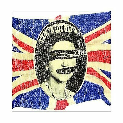 Sex Pistols Union Jack Greeting Birthday Card Any Occasion Album Cover Official