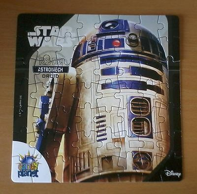 Puzzle STAR WARS: R2-D2, Candyplanet, RAR