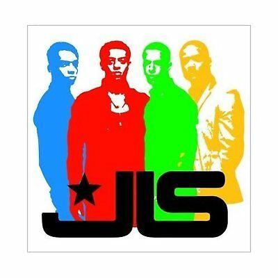 JLS Band Silhouette Image Greeting Birthday Card Any Occasion Blank Official