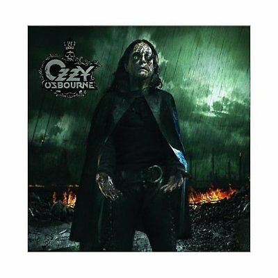 Ozzy Osbourne Black Rain Greeting Birthday Card Any Occasion Album Official
