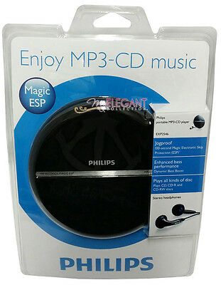 Philips Portable MP3-CD Player 100-sec Magic ESP and Dynamic Bass Boost EXP2546