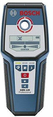 Bosch GMS 120 Professional Detector - Bosch - Drywall, Metal, Live Cable Mode UK