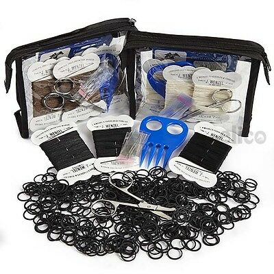 Horse Plaiting Kit, Five Piece Plaiting Kit in a Zipped PVC Bag
