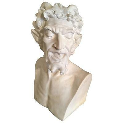 Bust of the Greek God Pan, after the Ancient Marble Original