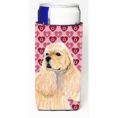 Buff Cocker Spaniel Hearts Love Valentines Day Michelob Ultra bottle sleeves ...