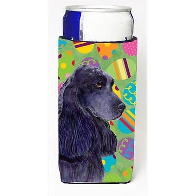 Cocker Spaniel Easter Eggtravaganza Michelob Ultra bottle sleeves For Slim Cans