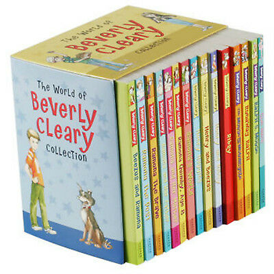 The World of Beverly Cleary Collection: 15 Book Box Set Ramona Beezus NEW!