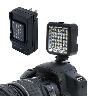 Bestlight Video Light 36 LED Rechargeable Battery for DV Canon Nikon Camera USA