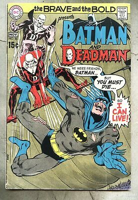 Brave And The Bold #86-1969 vg Neal Adams Batman