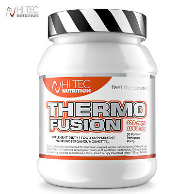Thermo Fusion 120/240 Caps. Fat Burner Weight Loss Thermogenic Garcinia Cambogia