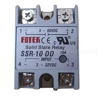 Solid State Relay SSR-10 DD DC-DC 10A 3-32VDC Input 5-60VDC Output MKLG