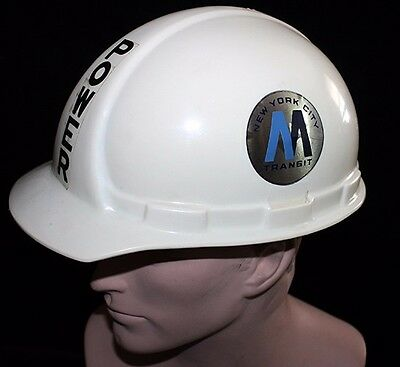 NYC Metropolitan Transit Authority (MTA) Hardhat - Power Infrastructure Employee