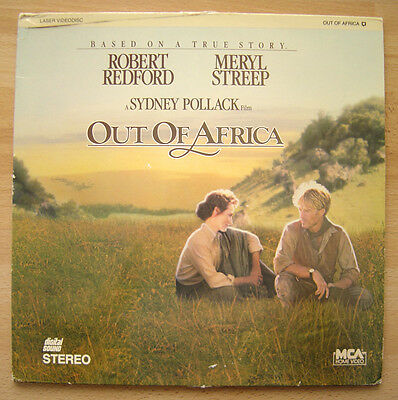 Out of Africa LASERDISC - Academy Award Best Picture (1985) - Redford, Streep