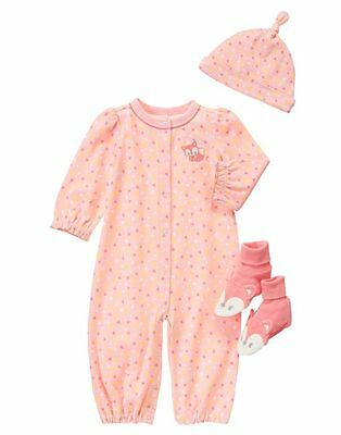 GYMBOREE Baby Fox One-Piece 6-12 months New with tags