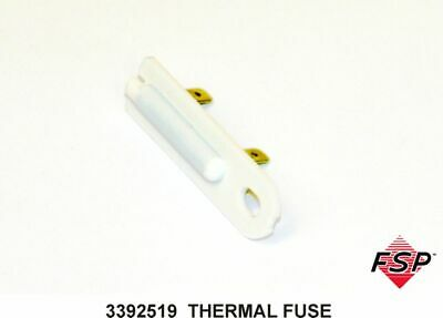 3 pack new 3392519 80005 694511 3388651 et401 whirlpool genuine 3392519 whirlpool dryer dryer thermal fuse