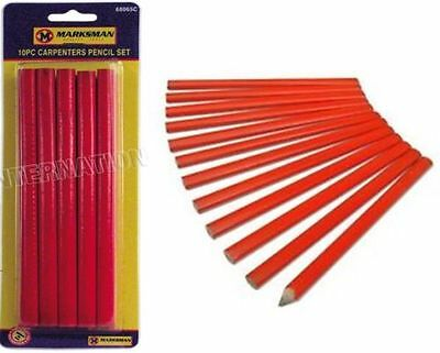10 Carpenters Pencil Joiner Pencil Carpenter Pencils Joiners Pencil Woodwork Uk
