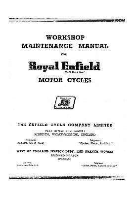 Royal Enfield Meteor 700 & 500 Twin Workshop manual