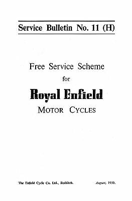 (1090) Royal enfield - Service tasks to perform