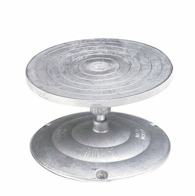 AMACO Turntable Decorating and Sculpture Banding Wheel, Aluminum, 7 inch Dia
