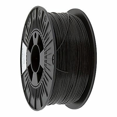 3D Prima PVABS175BK Print Filament, ABS, 1.75 mm, 1 kg Spool, Black