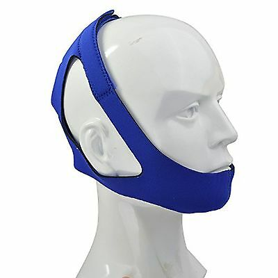 Anti-Snoring Chin Strap, Easily Adjustable Sleep Snore Aids Stopper Mouthpiece