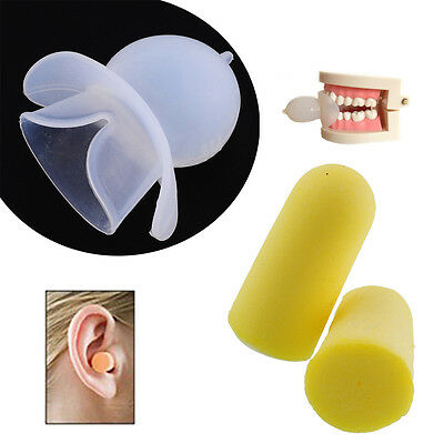 Mouthpiece Guard Apnea Stop Snoring With Tongue Anti Bruxism Sleeping Aid