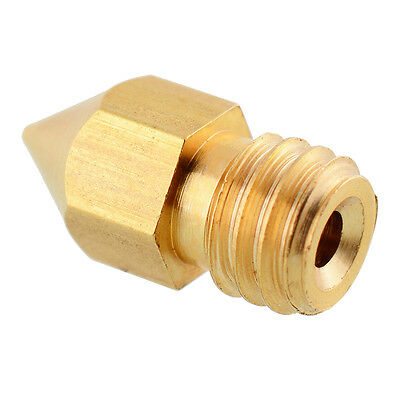 0.2mm 3D Extruder Nozzle Head for Makerbot MK8 RepRap Brass DIY use Accessories