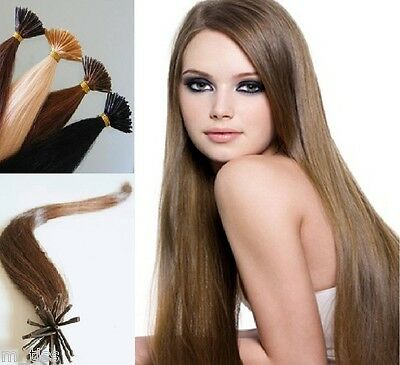 50, 100, 150 EXTENSIONS A FROID CHEVEUX 100% Naturel REMY HAIR 55cm ou 50cm