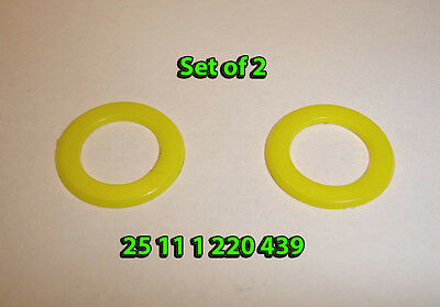 Set of 2 Replacement Plastic Washers BMW Shift Selector Shaft Rod 25111220439
