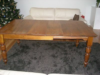 Antique Kauri Pine Extention Table