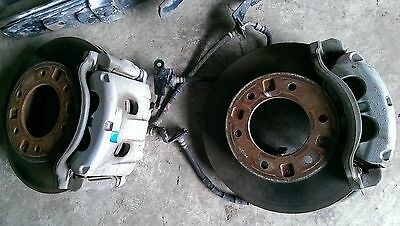 Ford Ranger 2015 PX front disk brakes, calipers, pads, hoses