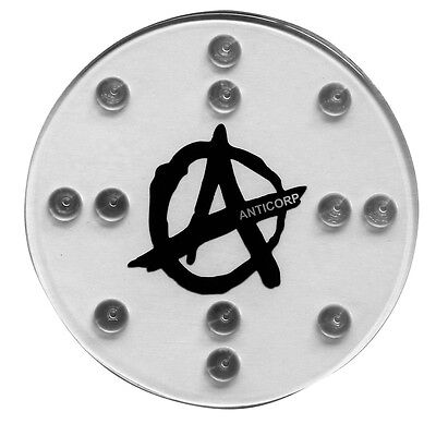 Anticorp Snowboard Stomp Pad - Circle A Grip - Made In Taiwan Not China