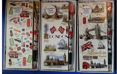GOOD QUALITY. 12 X LONDON SOUVENIR BALL POINT PEN RUBBER GRIP