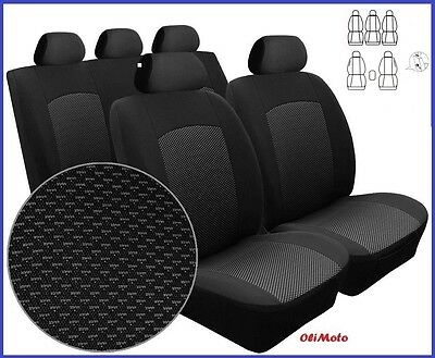 Tailored Full Set Seat Covers For Volkswagen Touran 5 seater 2003 - 2010