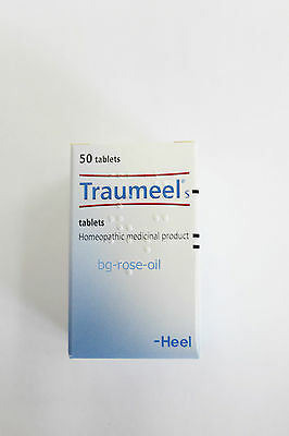 50 tablets-Traumeel S -Homeopathic-Anti-Inflammatory Pain Relief Analgesic