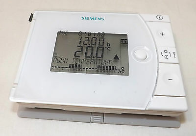 Siemens Rev13 Battery Operated Programmable 24 Hour Room Thermostat  Vat Inc