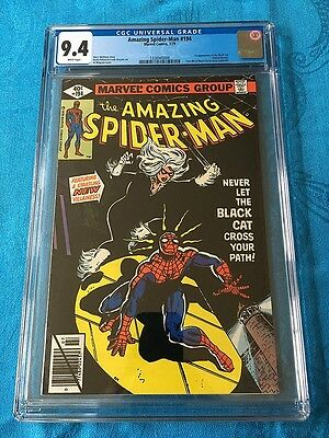 Amazing Spider-Man #194 - Marvel - CGC 9.4 NM White Pages - 1st Black Cat